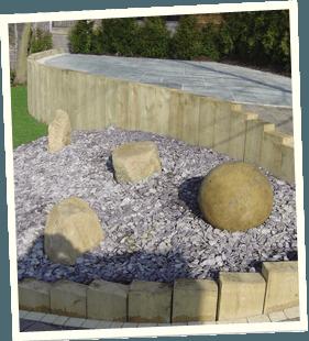 Garden makeovers - Holmfirth, Middleton, Chadderton - Avonleigh Homes & Gardens - garden ornaments