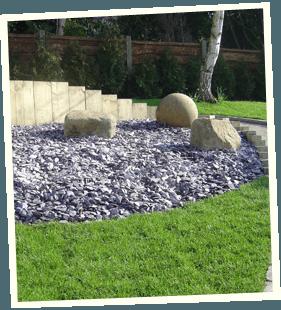 Garden rebuild - Royton, Ashton-under-Lyne, Marsden - Avonleigh Homes & Gardens - lawn ornaments