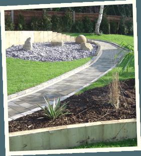 Garden redesign - Littleborough, Sowerby Bridge, Todmorden - Avonleigh Homes & Gardens - garden concrete