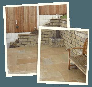 Dry stonework - Royton, Ashton-under-Lyne, Marsden - Avonleigh Homes & Gardens - patio