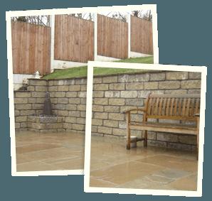 Garden makeovers - Holmfirth, Middleton, Chadderton - Avonleigh Homes & Gardens - stonework