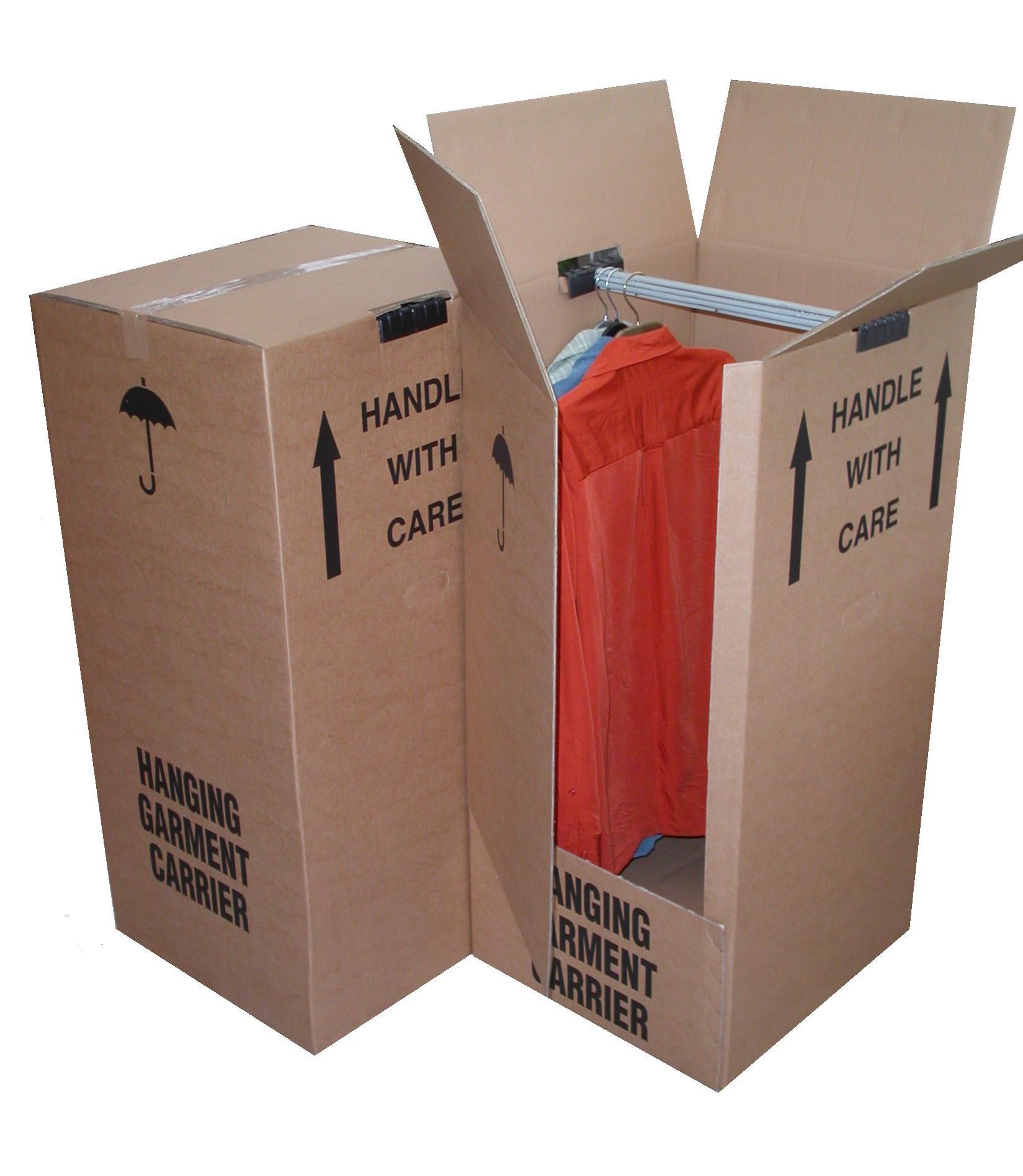 Hanging-garment carrier