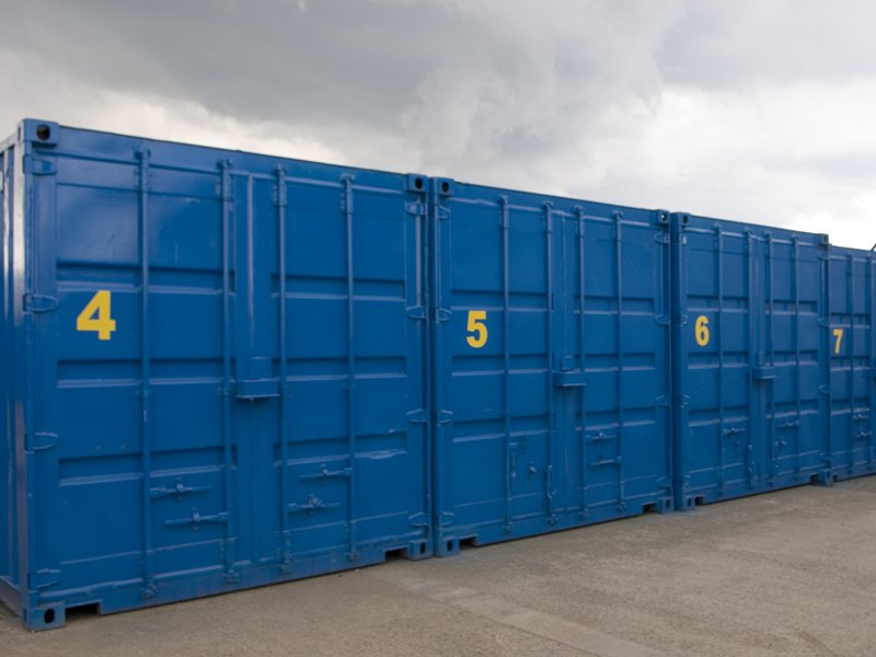 containerised self storage in north wales
