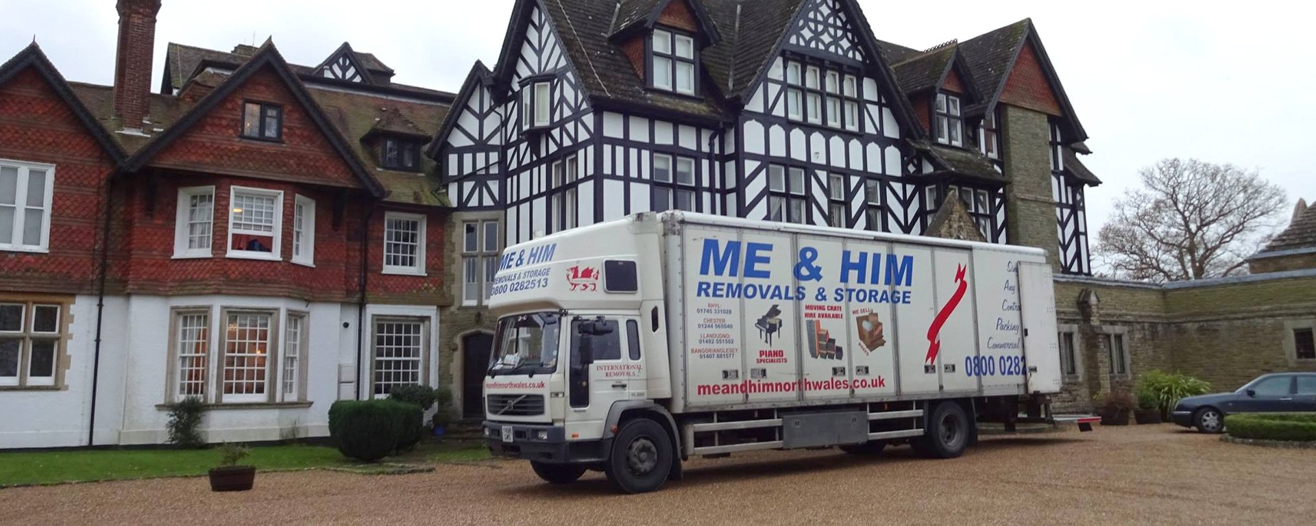 Me and Him Removals Company Vehicle