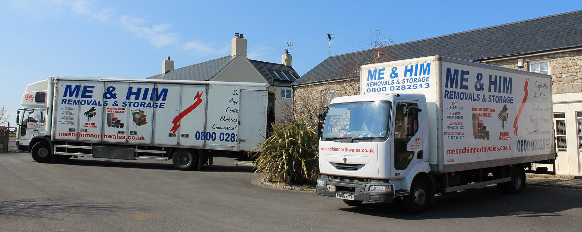 Me & Him Removals and Storage Vehicle