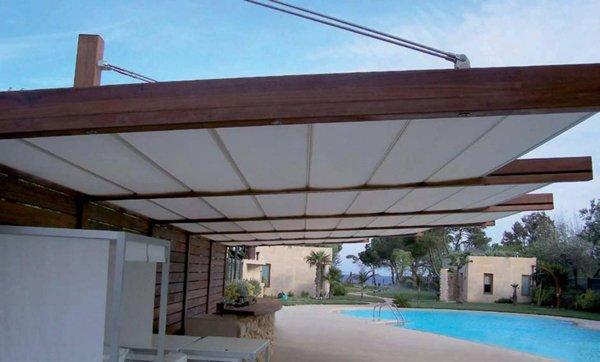 tenda da sole per protezioni solari