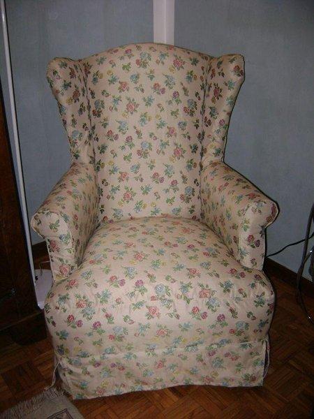 poltrone stile ottocentesco