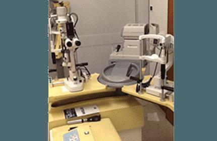 test della vista