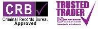 CRB TRUSTEDTRADER logo