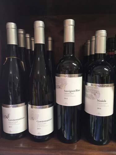 bottiglie di vino BOTTEGA VINAI