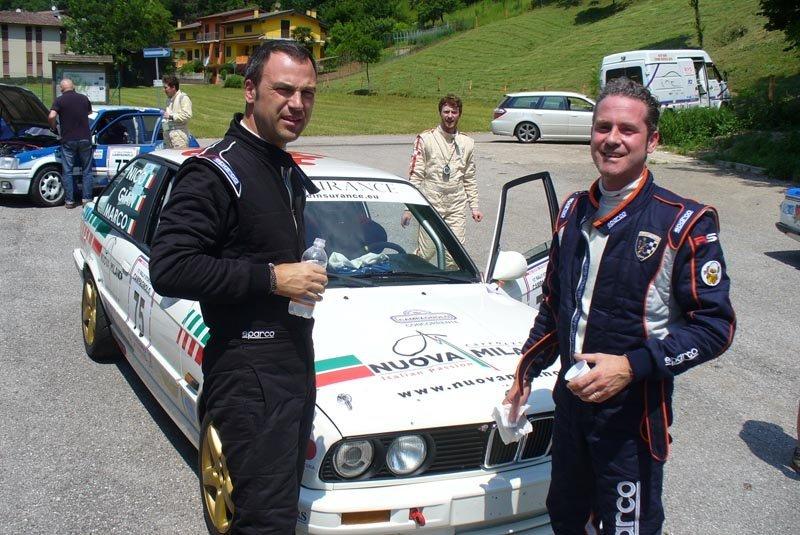 Trasporto auto Rally con carrello