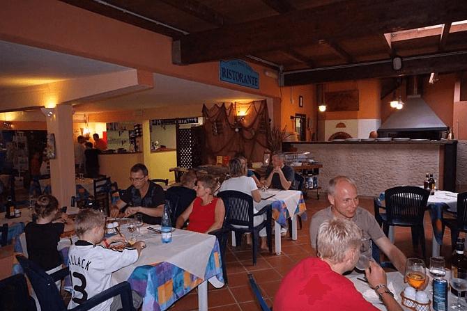 area ristoro