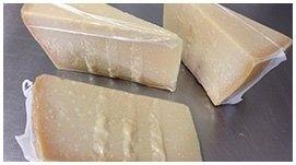 imballaggio formaggio grana