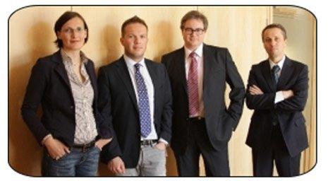 Foto di quattro avvocati