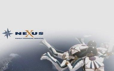 logo nexus con degli astronauti
