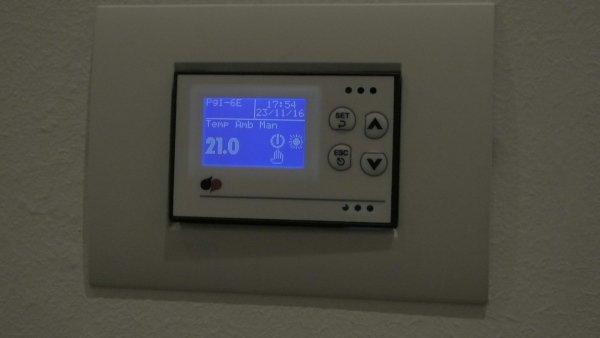 Centralina impianto ventilazione meccanica controllata