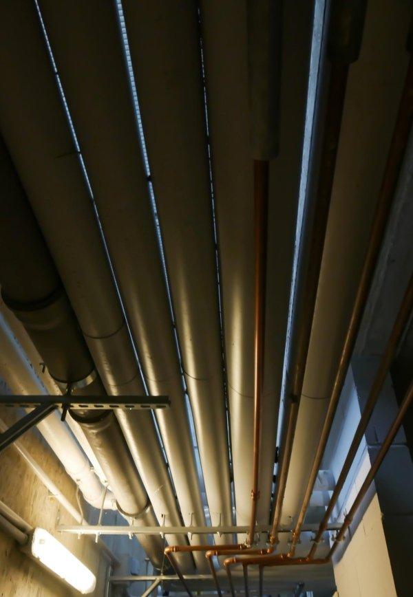 Canali centrale termica