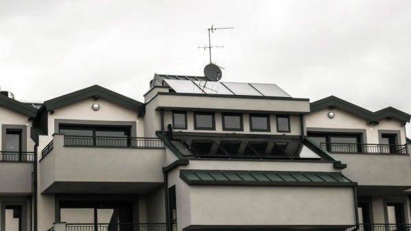 Sistema solare in recupero sottotetto Rho