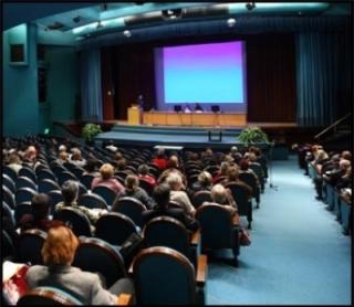Impianto audio per conferenze