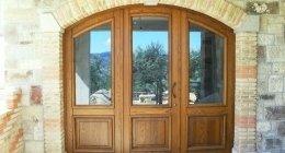 infissi in legno, finestre in legno, porte-finestre in legno