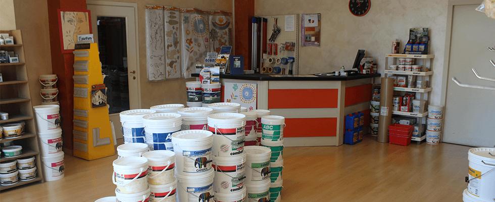 vendita vernici e materiali edili