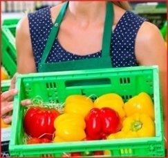 reparto ortofrutta, vendita verdura