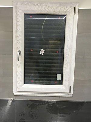 una finestrella in PVC