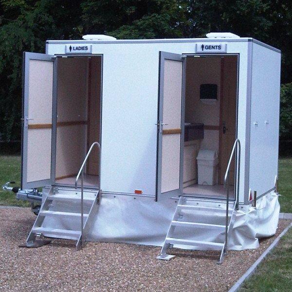 2 in 1 luxury toilet