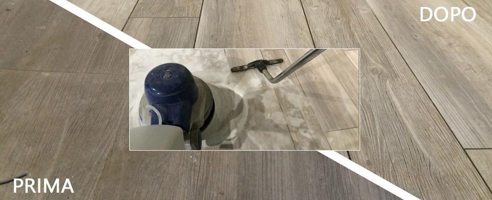 Pulizia pavimenti in gres porcellanato