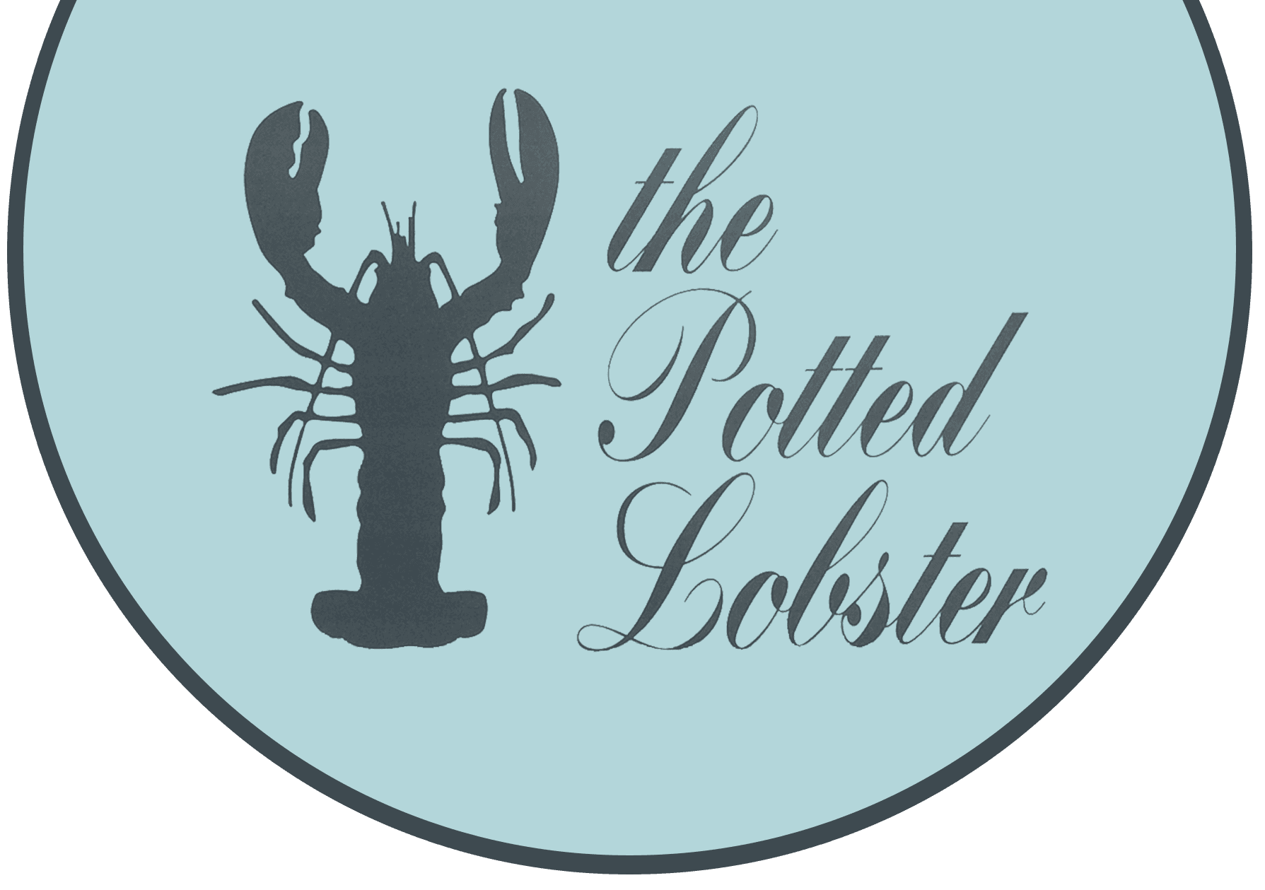 The Potted Lobster logo