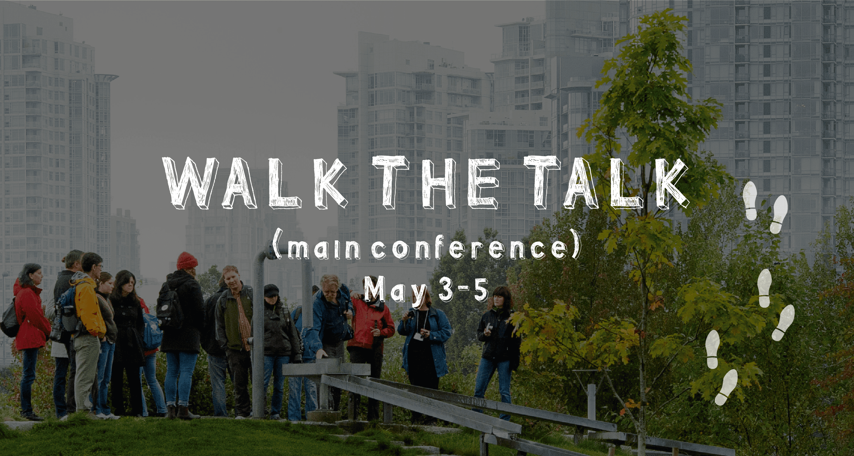 walk the talk - main c2uexpo conference - may 3-5, 2017