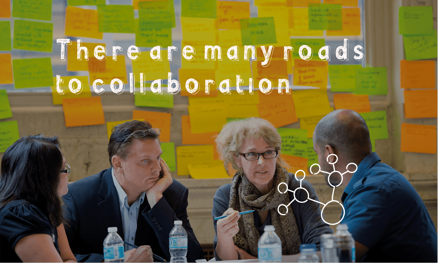 there are many roads to collaboration