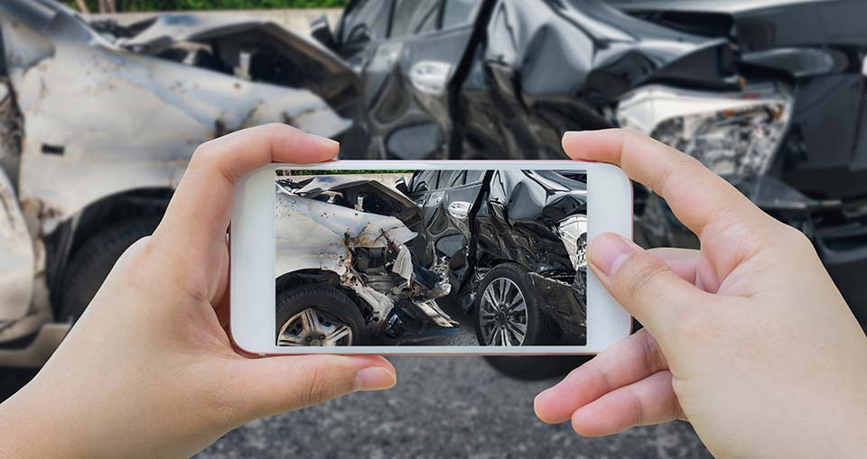 Car Accident - Take a Photo to Help Your Case for Your Legal Claim
