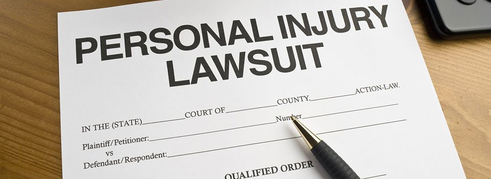 Personal Injury Lawsuit - Fitch & Stahle Law Office