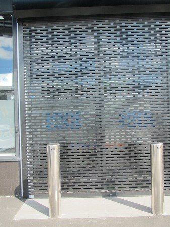Stainless steel fixed bollard