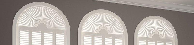 white shutters