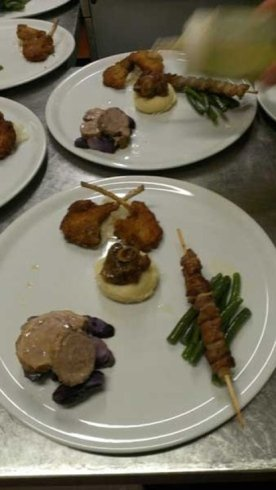 Specialità di carne ad Alpago