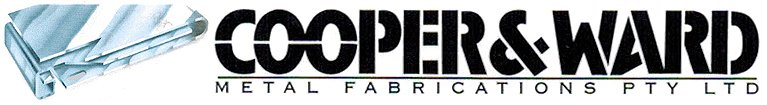 cooper and ward metal fabrications business logo