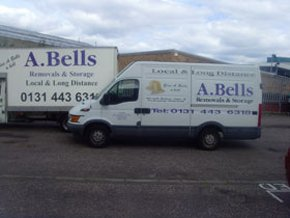 Removal specialists -   Edinburgh, Scotland - A Bell Removals & Storage - Removals