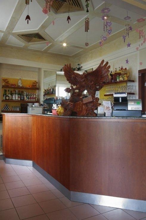 reception e bancone ristorante