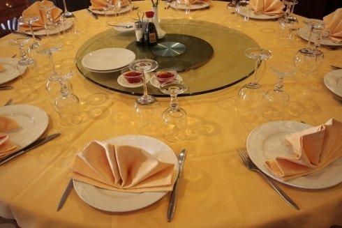 piatto centrale per pietanze cinesi