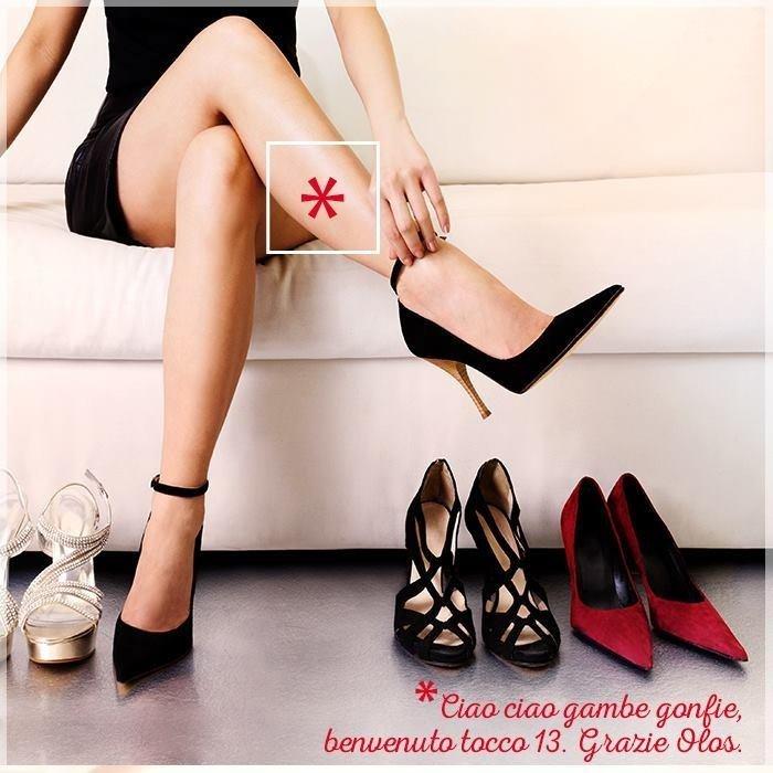 olos prodotti gambe corpo trattamenti