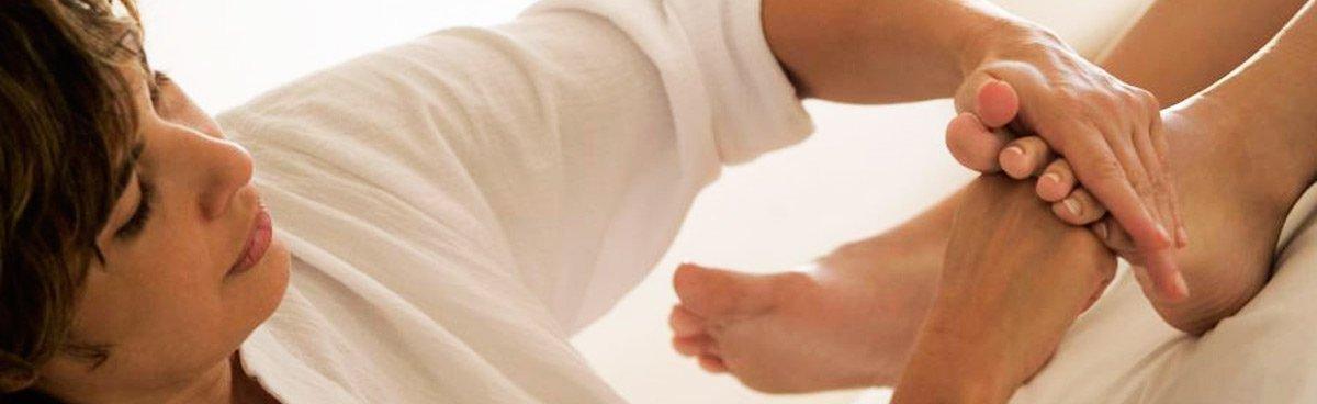 Gosford-Podiatry-footmassage