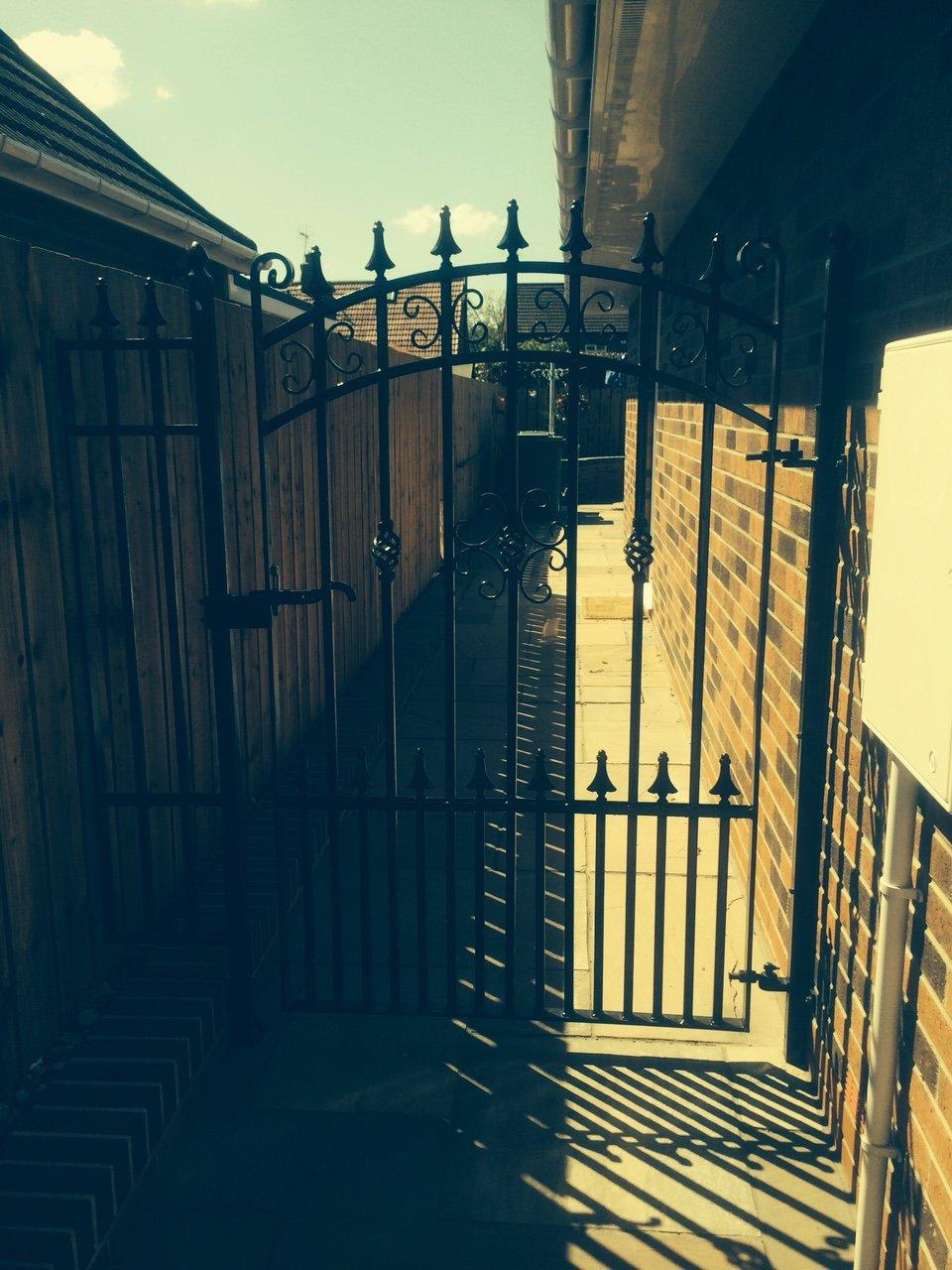Porch gates
