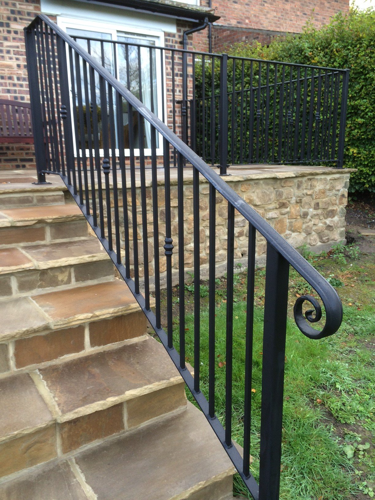 Handrails stairs