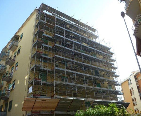 Rifacimento facciate a Palermo