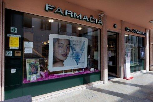 La sede della farmacia Favero