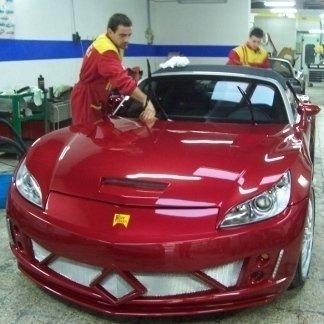 sostituzione cristalli auto da corsa