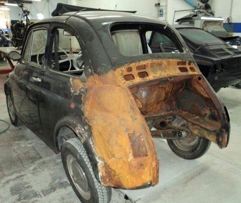 Fiat 500 da ripristinare