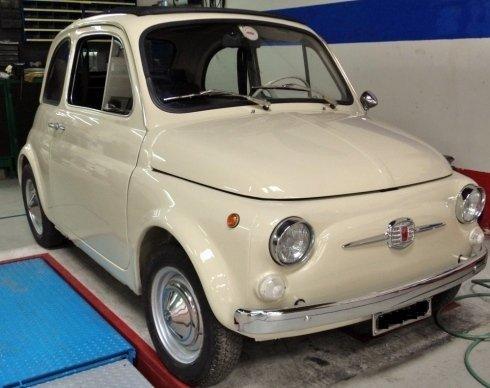 Fiat 500 Ripristinata